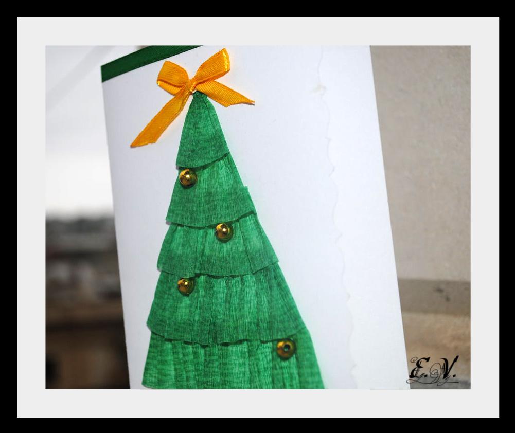 елка 3 Новогодняя открытка
