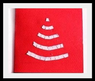 елка Новогодняя открытка