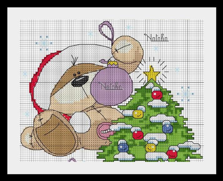 мишка новый год Мишки Fizzy Moon (часть вторая)