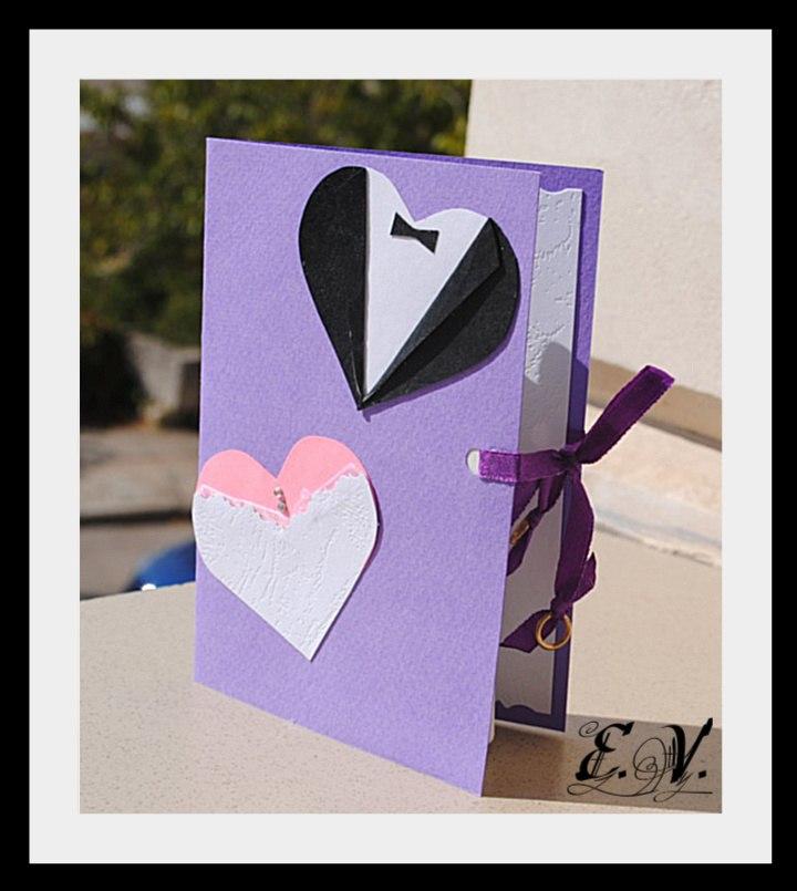 Сделать открытку руками на свадьбу 631