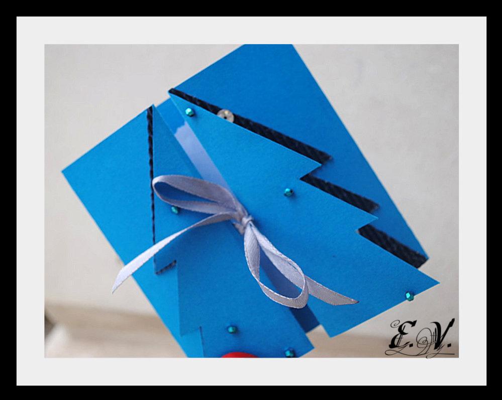 DSC 00011 Новогодняя открытка Елочка