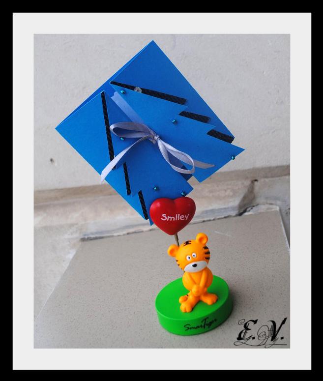 DSC 00021 Новогодняя открытка Елочка