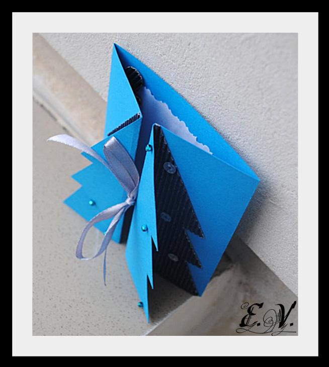 DSC 0007 Новогодняя открытка Елочка