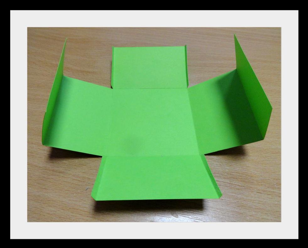 DSC04094 Упаковки для подарков на Новый год (коробочка №2)
