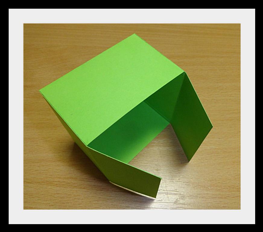 DSC04099 Упаковки для подарков на Новый год (коробочка №2)
