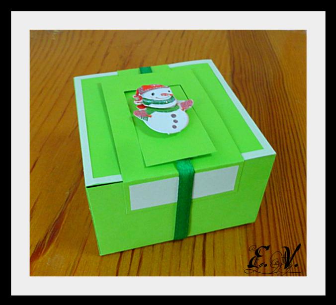 DSC04124 Упаковки для подарков на Новый год (коробочка №2)