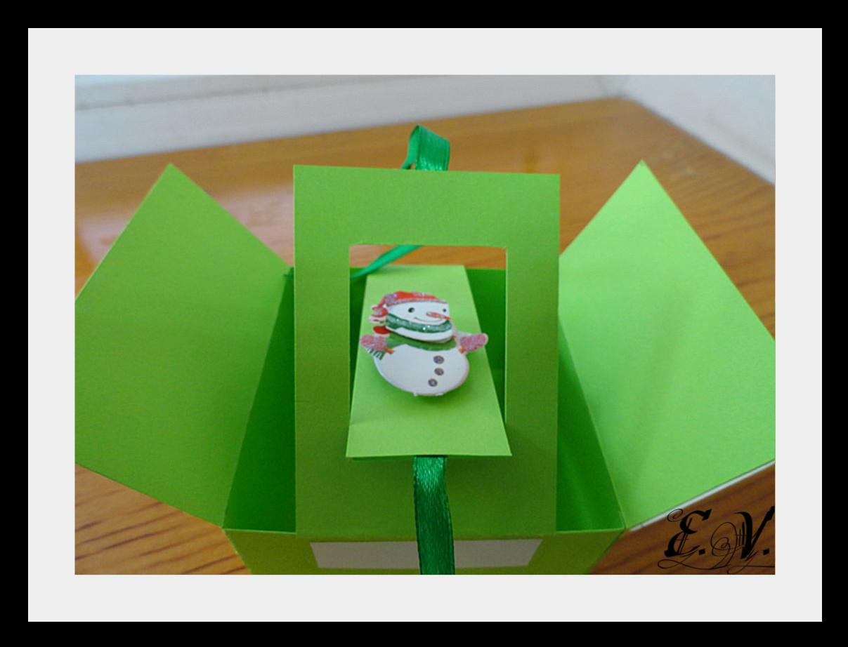 DSC04127 Упаковки для подарков на Новый год (коробочка №2)