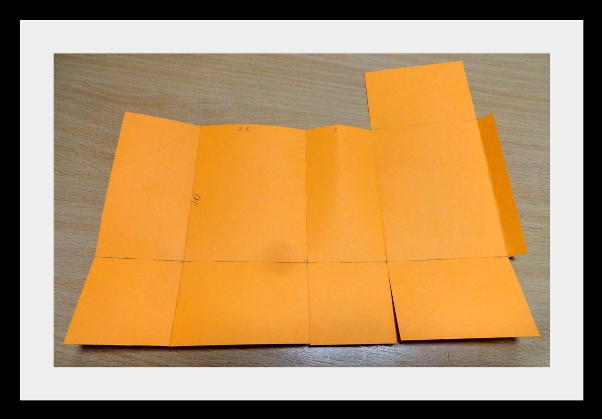 DSC04132 Упаковки для подарков на Новый год (коробочка №1)