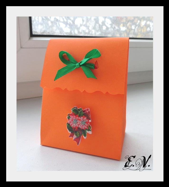 DSC04156 Упаковки для подарков на Новый год (коробочка №1)