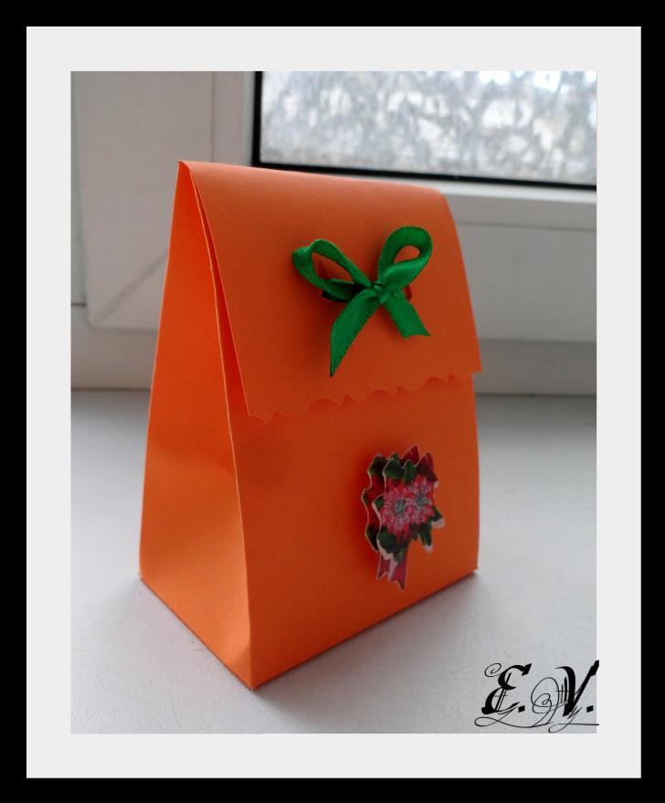 DSC04159 Упаковки для подарков на Новый год (коробочка №1)