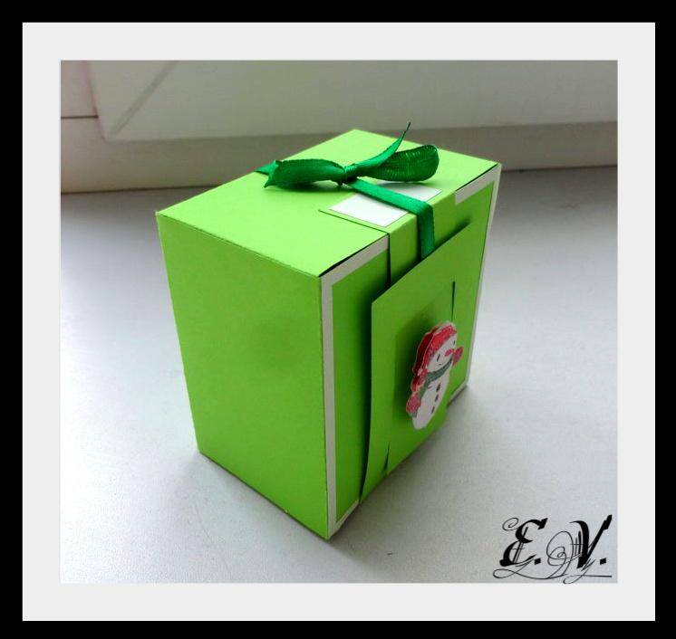 DSC04162 Упаковки для подарков на Новый год (коробочка №2)