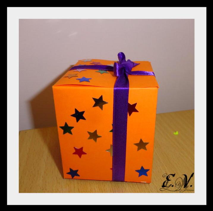 DSC04194 Упаковки для подарков на Новый год (коробочка №3)