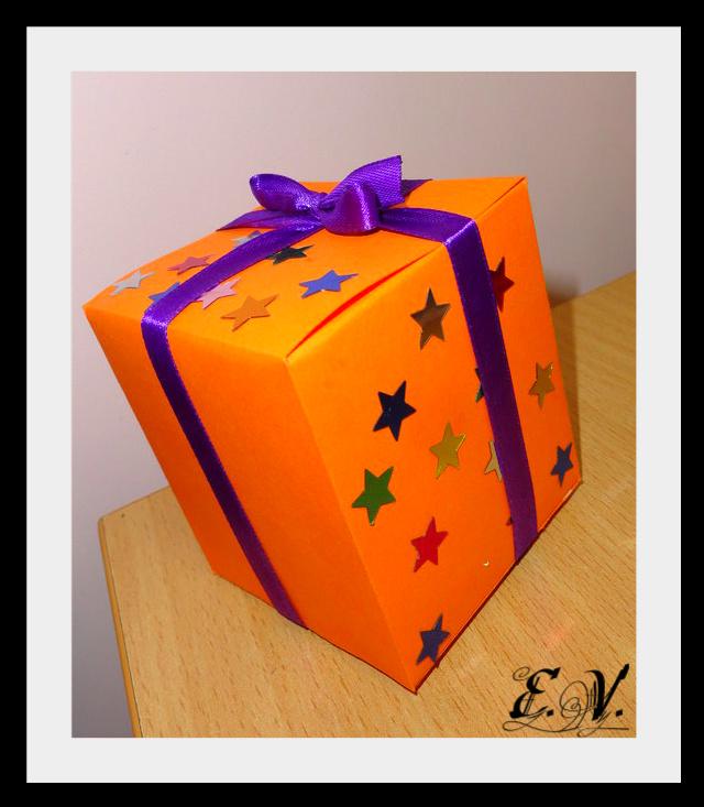 DSC04197 Упаковки для подарков на Новый год (коробочка №3)