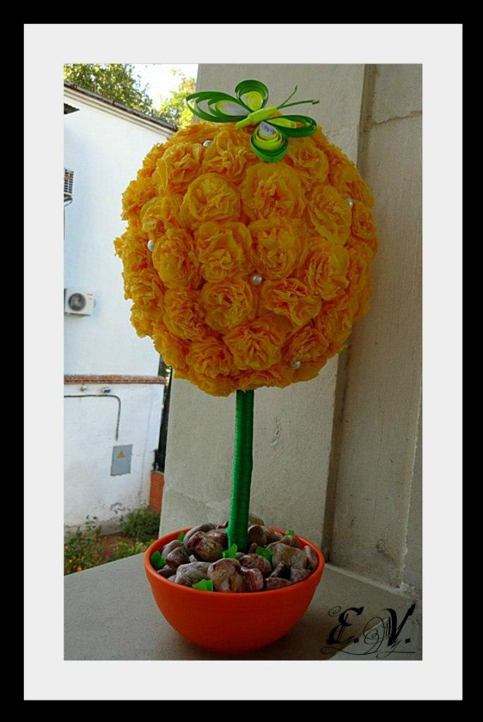 cvetok shar6 Весеннее дерево.