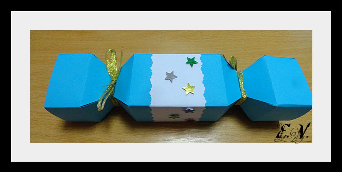 konfeta4 Упаковки для подарков на Новый год (коробочка №5)