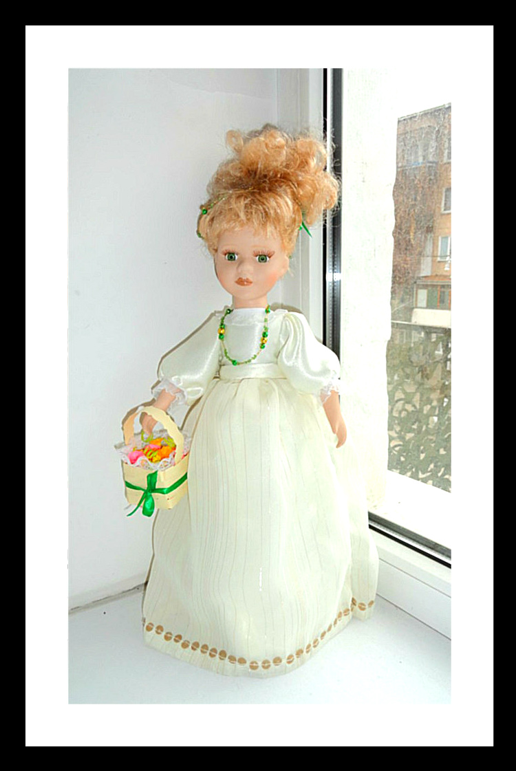 кукла Фарфоровые куклы: преображение Шарлотты