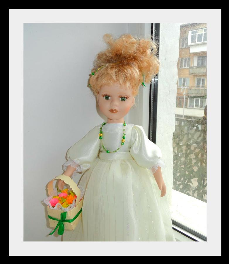 kukla Фарфоровые куклы: преображение Шарлотты