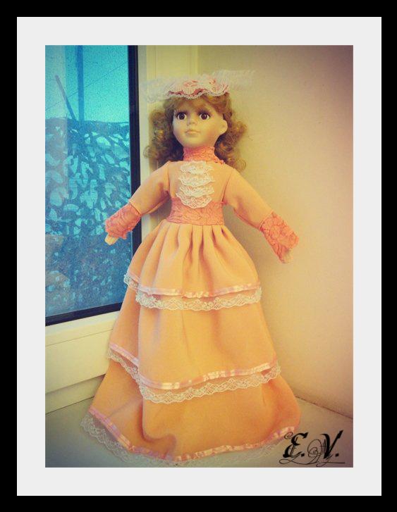 kyklu21 Фарфоровые куклы: преображение Каролины.