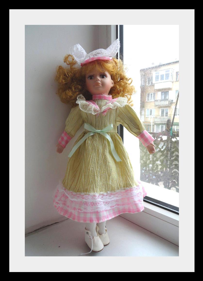 kyklu24 Фарфоровые куклы: преображение Каролины.