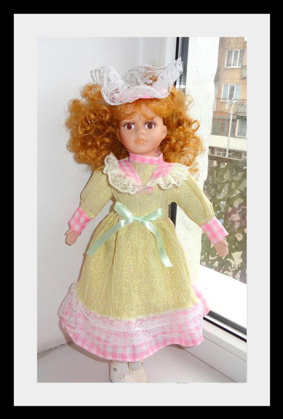 kyklu25 Фарфоровые куклы: преображение Каролины.