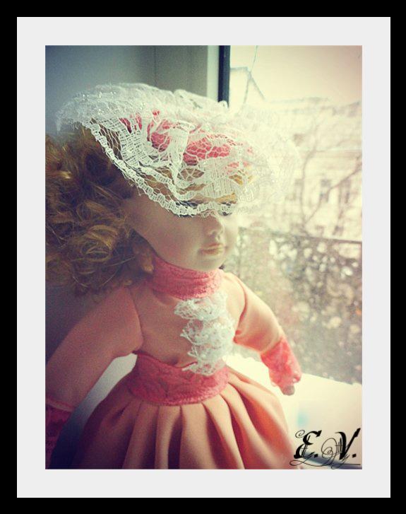 kyklu30 Фарфоровые куклы: преображение Каролины.