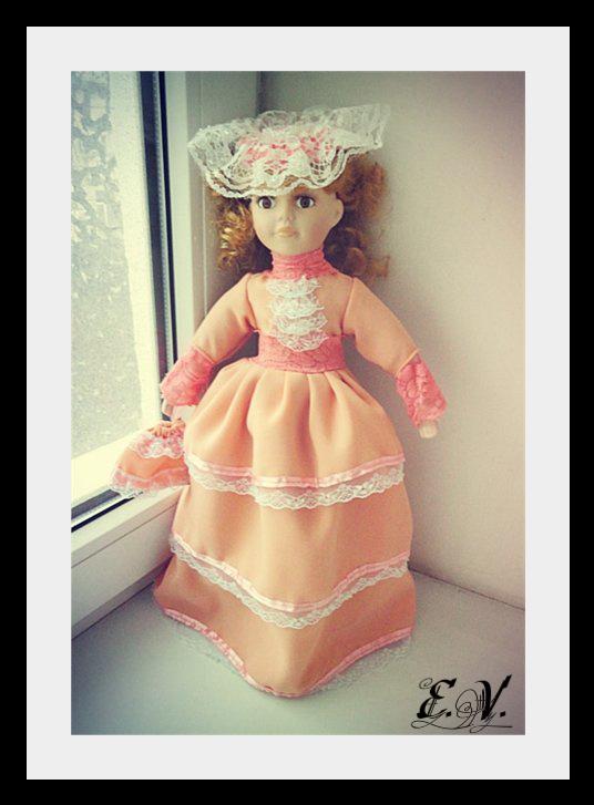 kyklu31 Фарфоровые куклы: преображение Каролины.