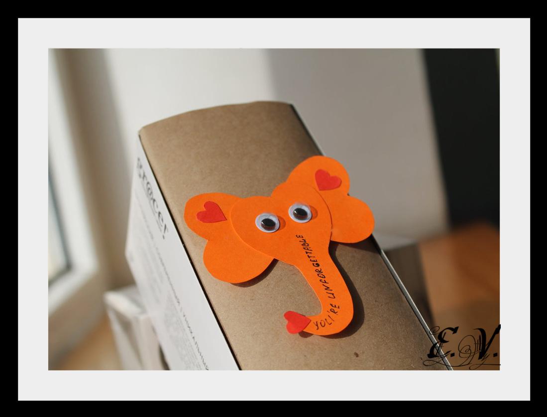 slonik1 Упаковка подарков   веселый слоник