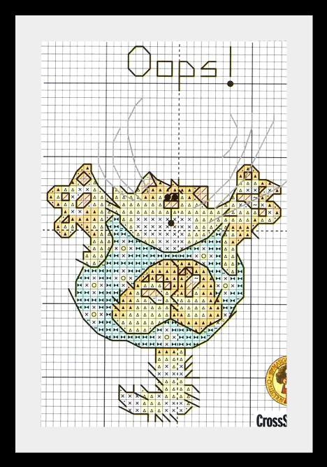 kotik vushivka8 Веселые котики: схемы для вышивки.