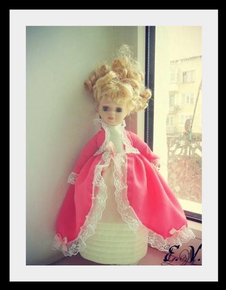 kyklu32 Фарфоровые куклы: преображение маленькой Лизи.