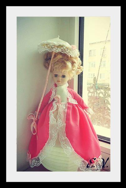 kyklu34 Фарфоровые куклы: преображение маленькой Лизи.