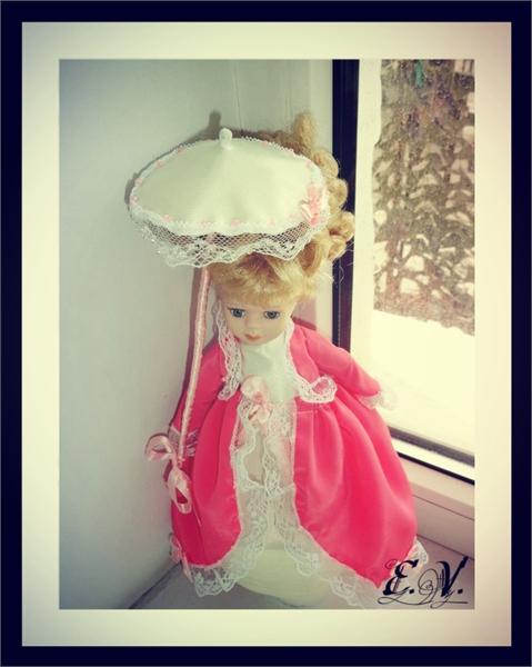kyklu35 Фарфоровые куклы: преображение маленькой Лизи.