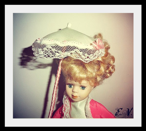 kyklu36 Фарфоровые куклы: преображение маленькой Лизи.