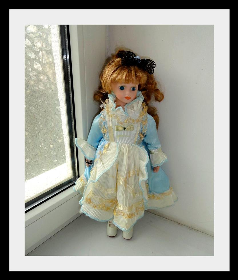 kyklu40 Фарфоровые куклы: преображение Эбигэйл.