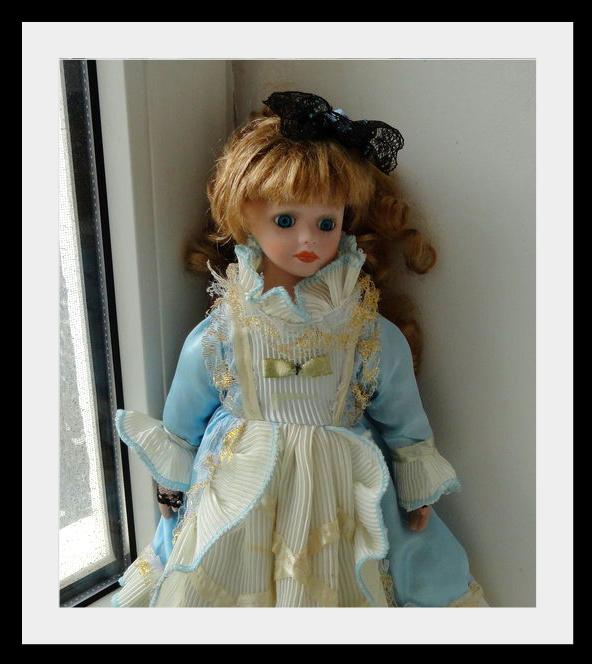 kyklu41 Фарфоровые куклы: преображение Эбигэйл.