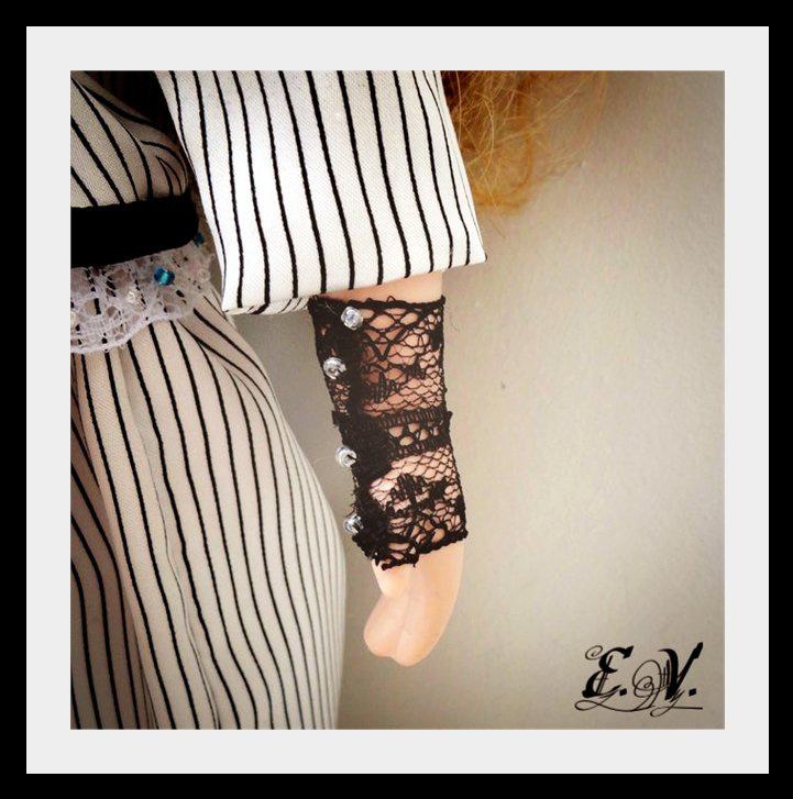 kyklu42 Фарфоровые куклы: преображение Эбигэйл.