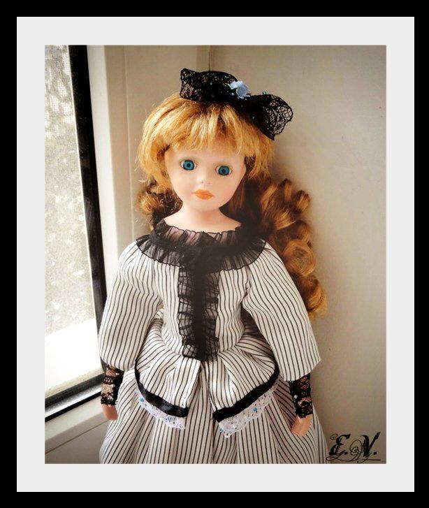 kyklu43 Фарфоровые куклы: преображение Эбигэйл.