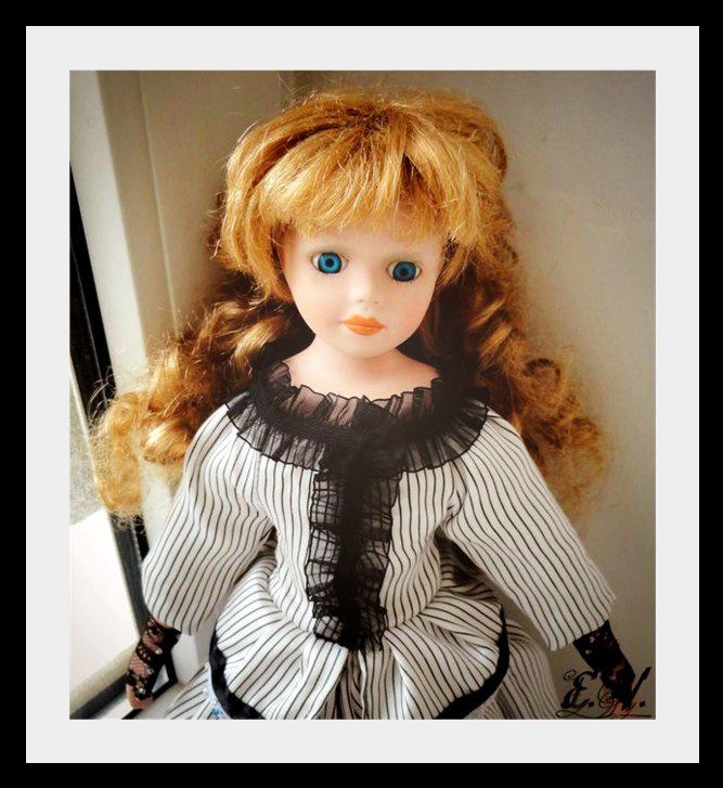 kyklu46 Фарфоровые куклы: преображение Эбигэйл.