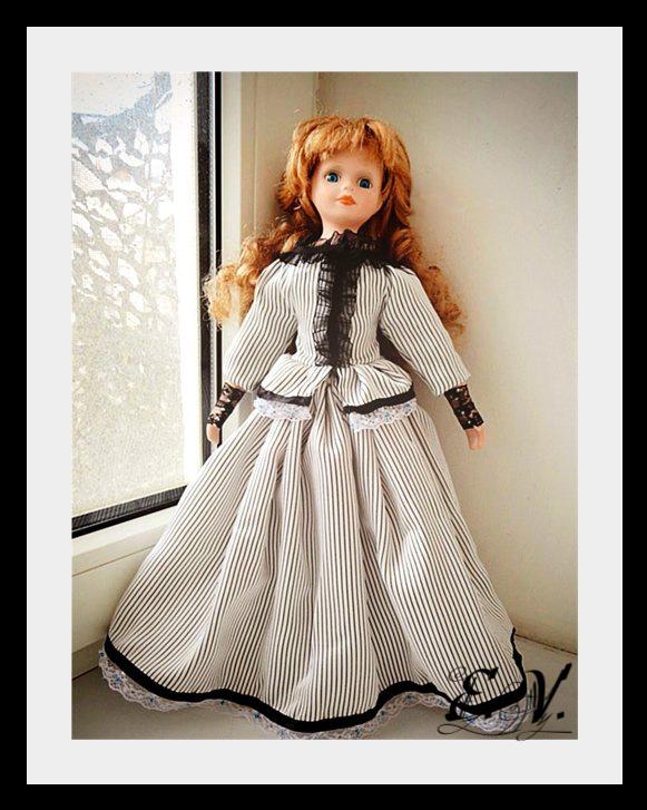 kyklu48 Фарфоровые куклы: преображение Эбигэйл.