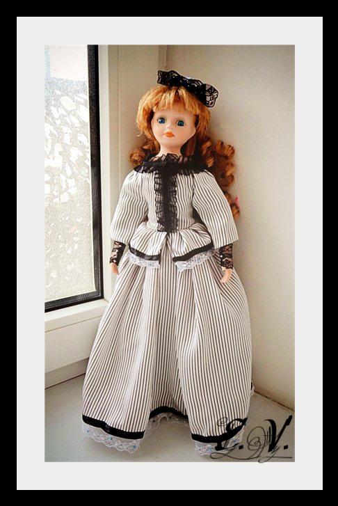 kyklu49 Фарфоровые куклы: преображение Эбигэйл.
