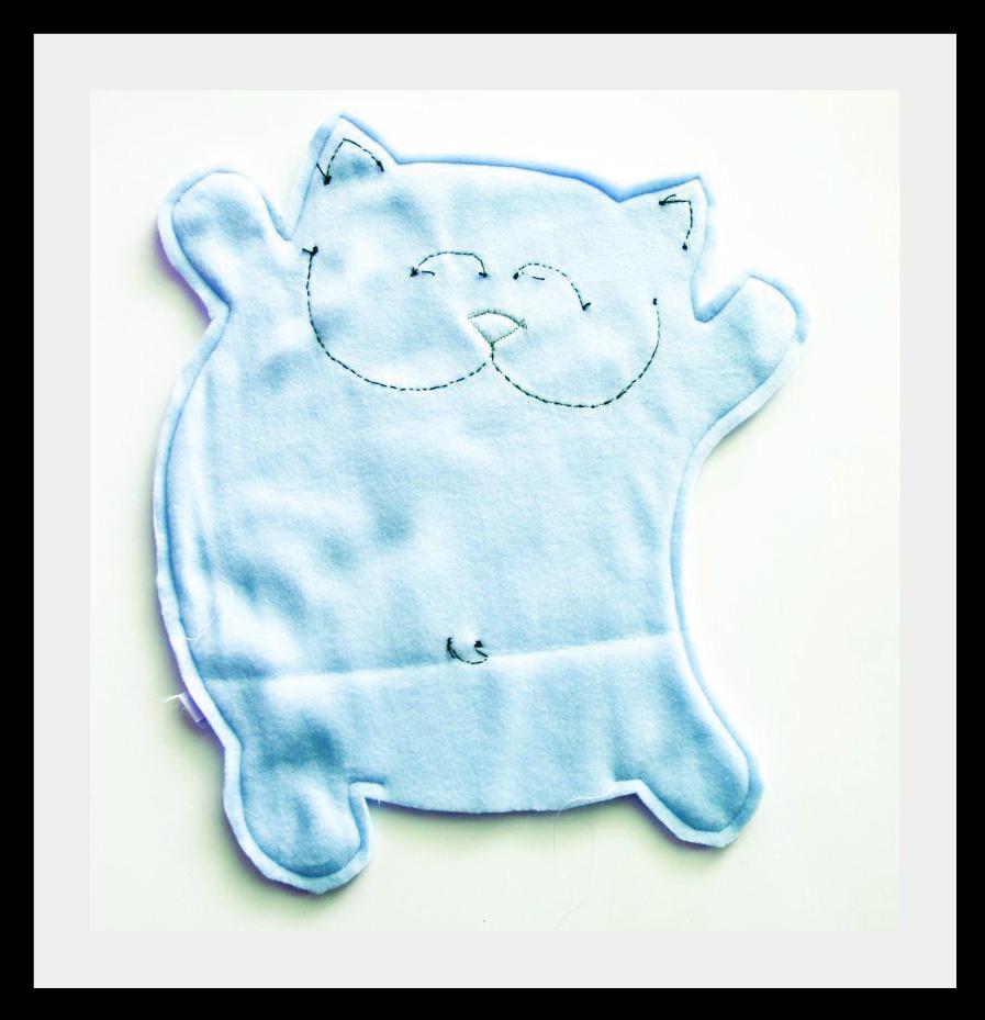 Kotu iz flisa3 Мягкие игрушки: веселые коты