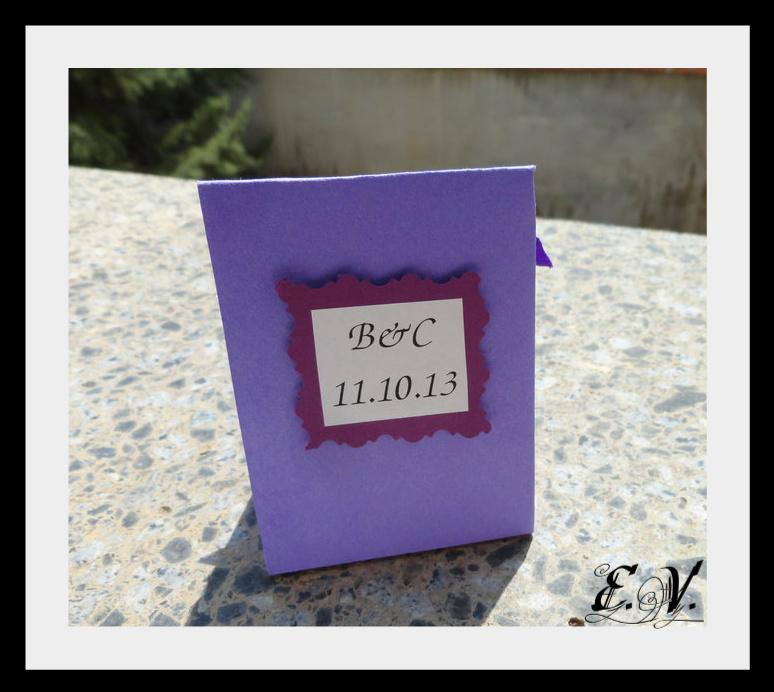 bonbonerka11 Фиолетовая свадьба.