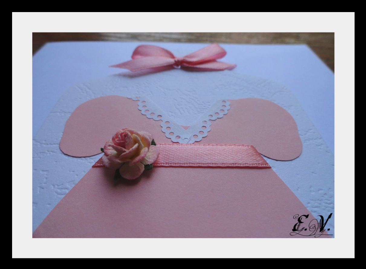 otkrutka plate8 Розовое платье для маленькой принцессы.